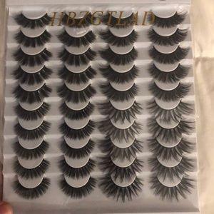 Eyelashes variety pack long